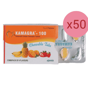Kamagra chewable tablets 50 strip